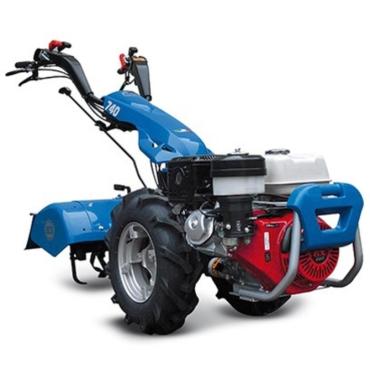 Motocultor BCS 740 GX390 + Freza de pamant 80 cm