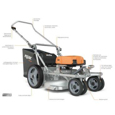 Masina de tuns gazon electricape baterie PELLENC Rasion Easy - 59-57177