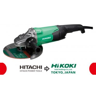 Polizor Unghiular cu Comutator Tragaci, Electric Hitachi - Hikoki G23STWAZ