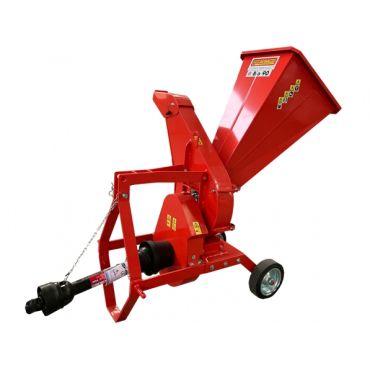 Tocator de crengi actionat de tractor Caravaggi BIO 90 Tractor