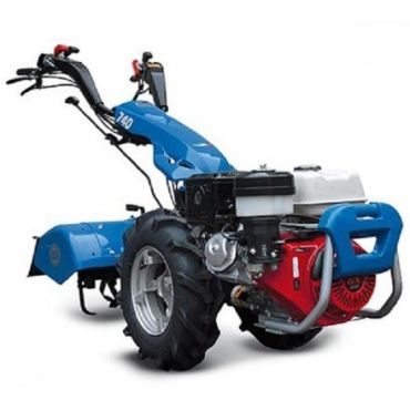 Motocultivator BCS 740 Powersafe - Reversibil - pornire electrica - Yanmar LN100 7,5 KW